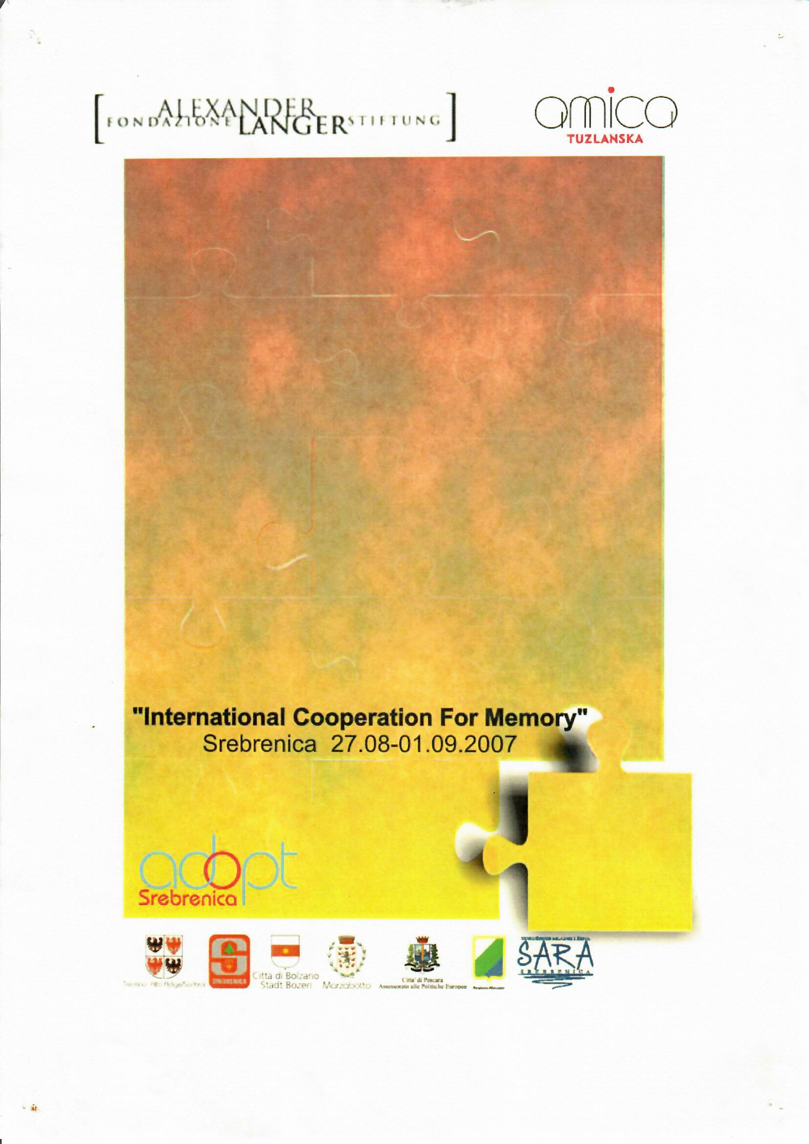 Međunarodna sedmica sjećanja 2007.