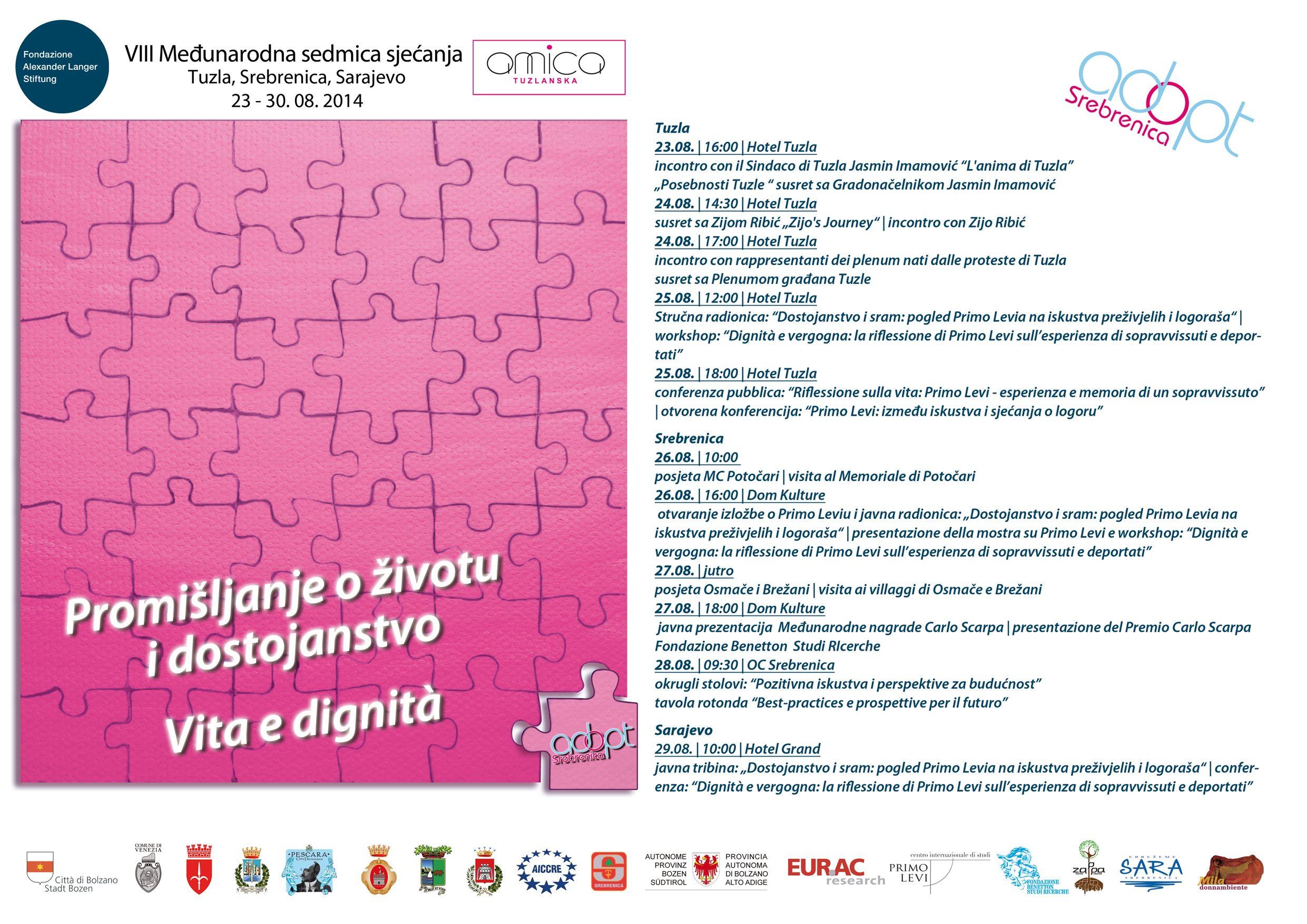 Međunarodna sedmica sjećanja 2014.