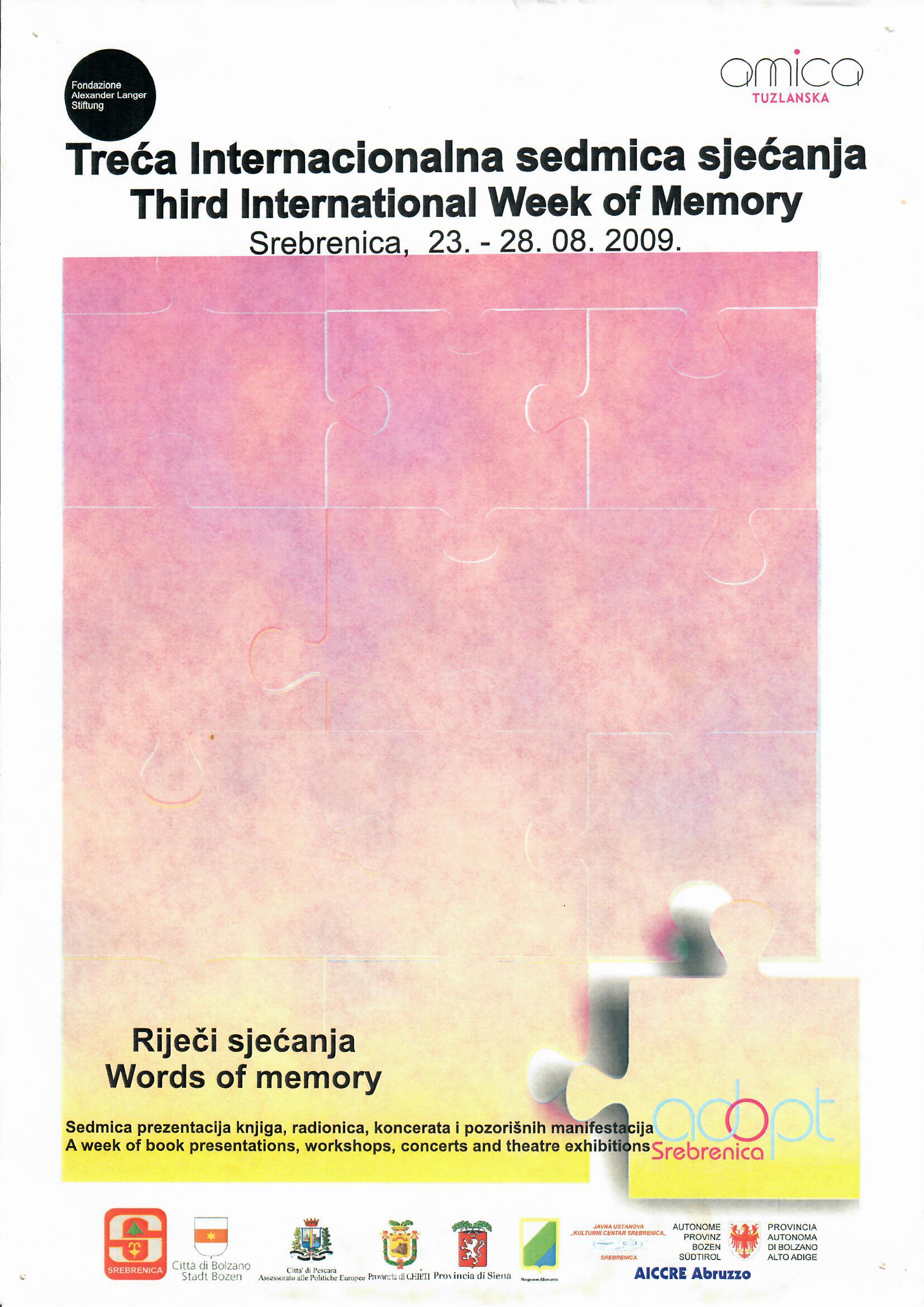 Međunarodna sedmica sjećanja 2009.