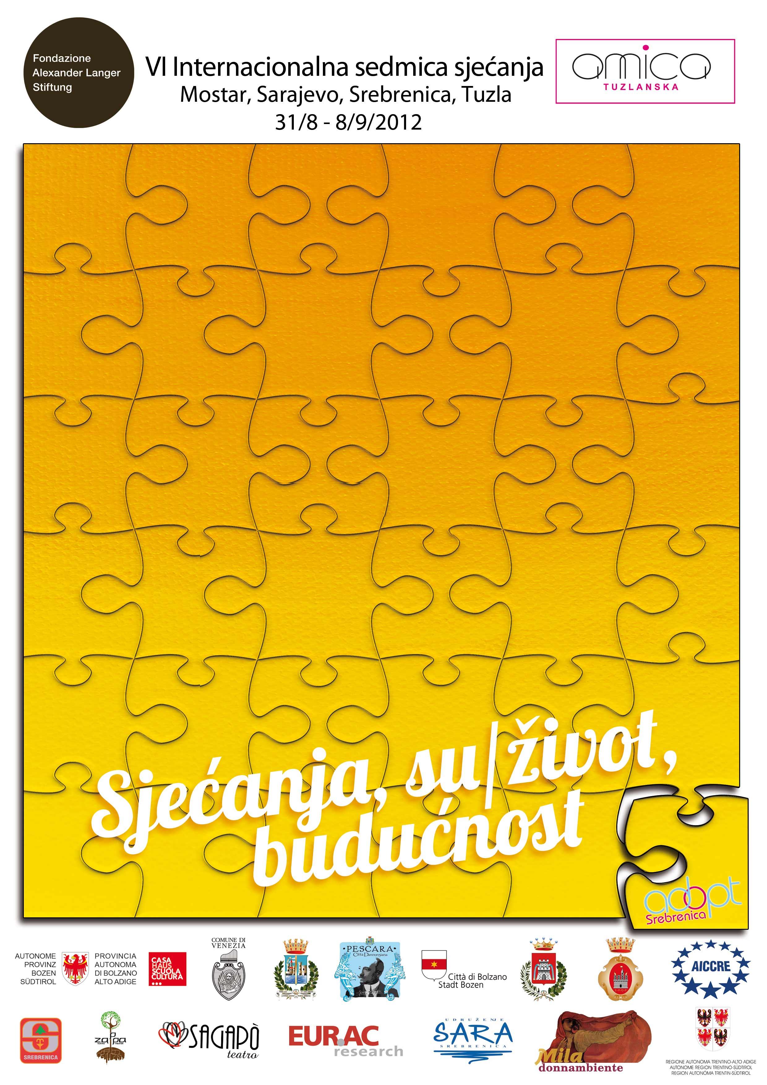 Međunarodna sedmica sjećanja 2012.